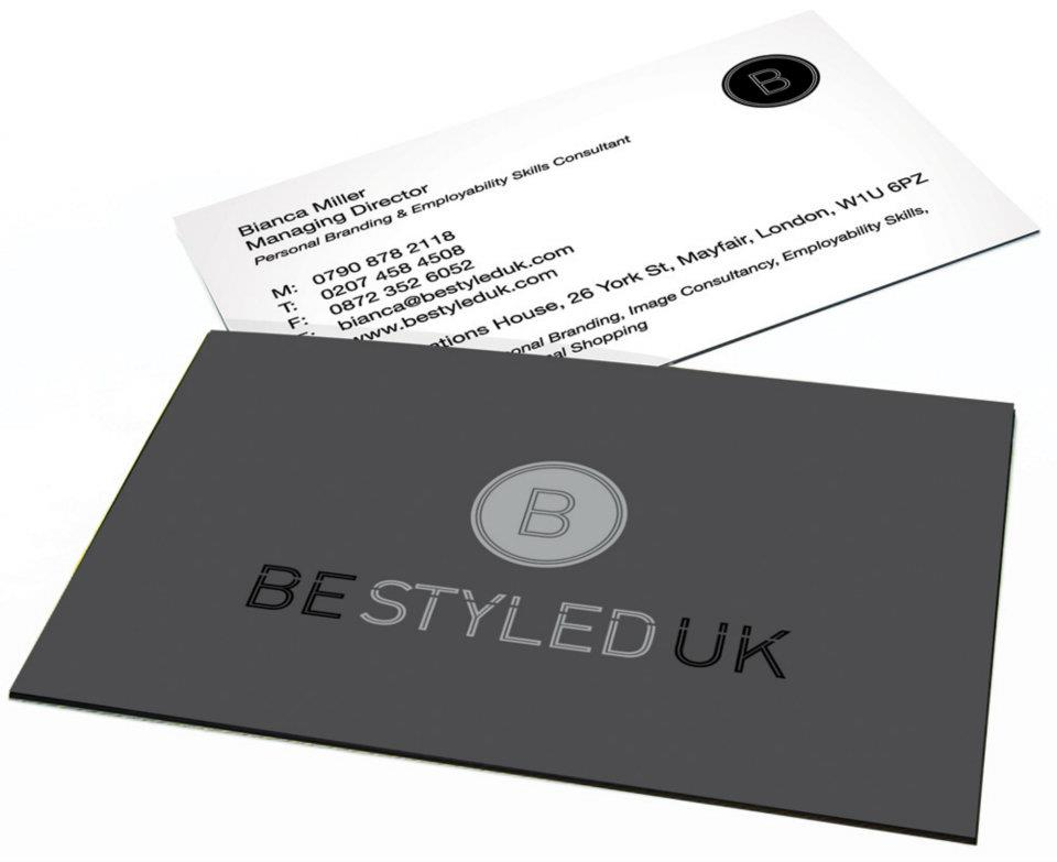 Be Styled UK business cards