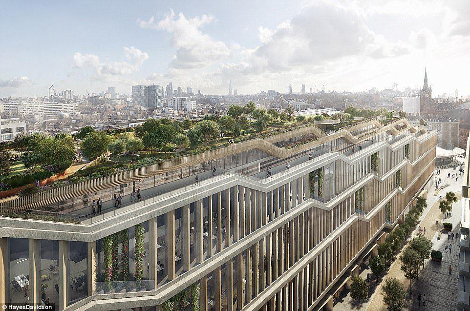 Google unveils plans for its £1billion trendy new London Headquarters