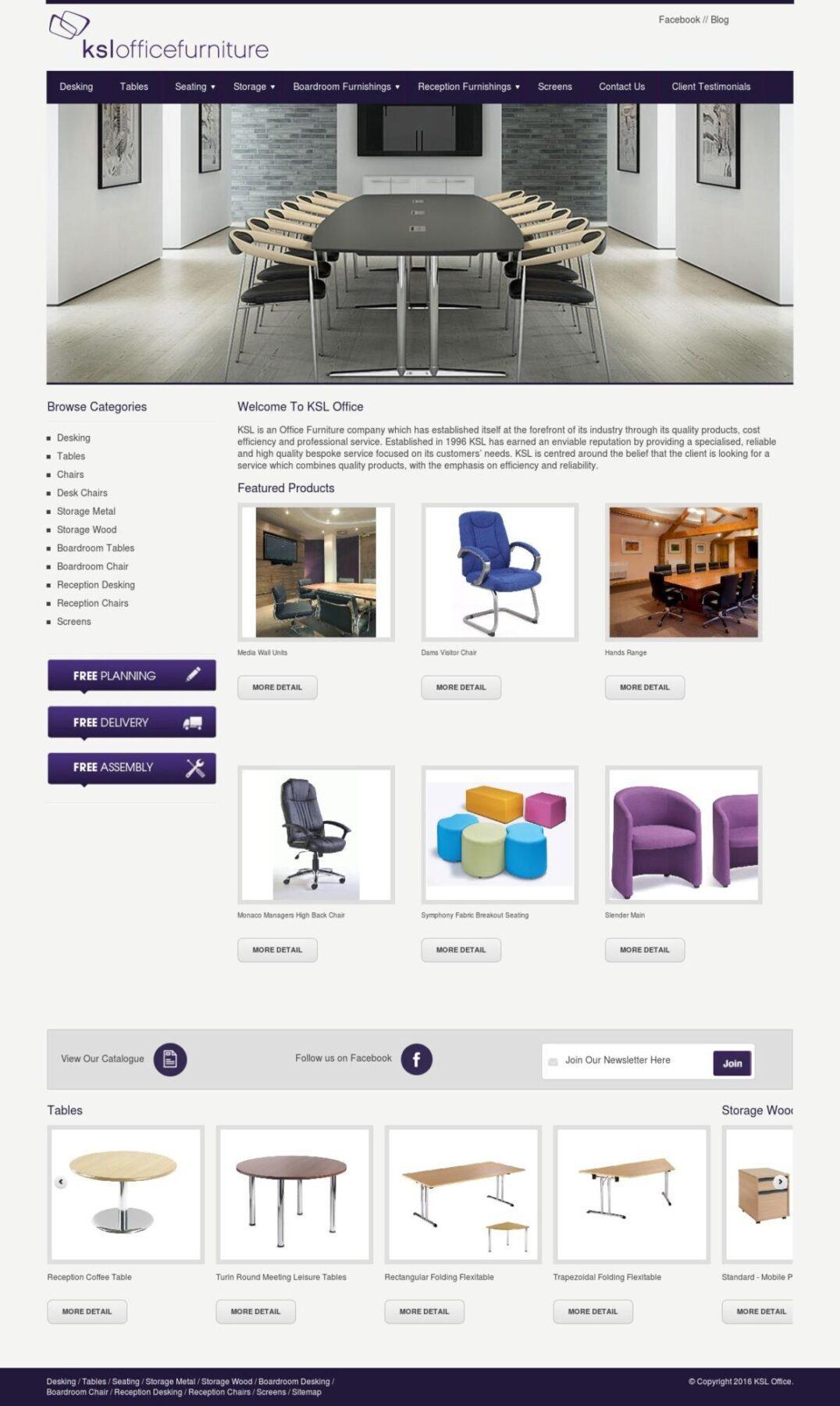 ksl office furniture website